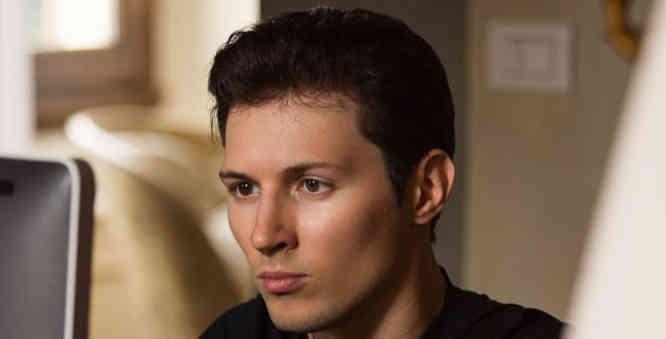 Pavel Durov - Telegram įkūrėjas