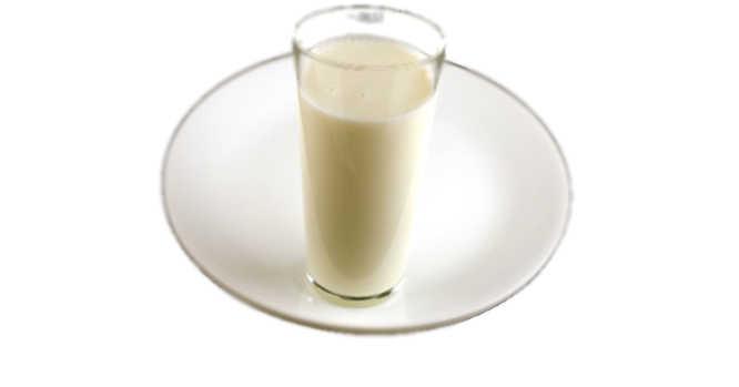 Stiklinė pieno