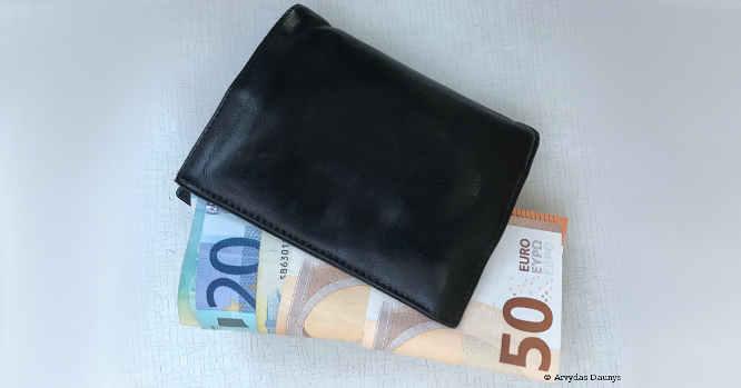 Piniginė pinigai
