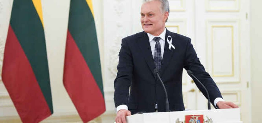 Lietuvos Prezidento G. Nausėdos kalba užsienio šalių diplomatiniam korpusui