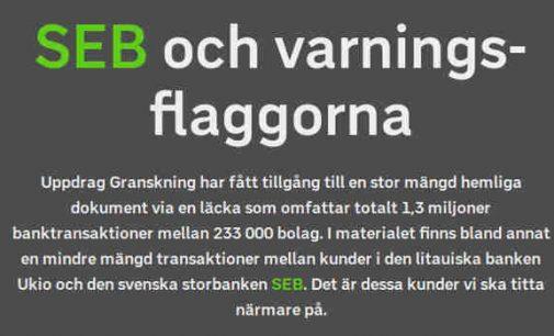 Skandinaviška skalbykla: dar vienas bankas įtartas pinigų plovimu