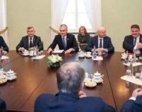 Lietuva nenusileis Baltarusijai nesaugios Astravo atominės elektrinės ir žmogaus teisių klausimais