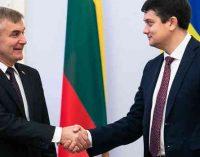"""Viktoras Pranckietis: """"Sankcijos Rusijai turi galioti iki visiško Minsko susitarimų įgyvendinimo"""""""