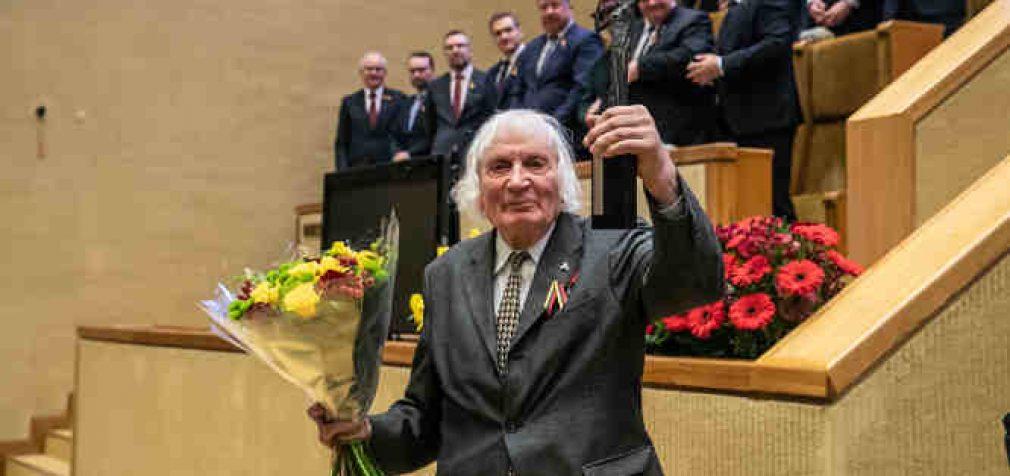 Laisvės premija skirta Laisvės kovų dalyviui Albinui Kentrai