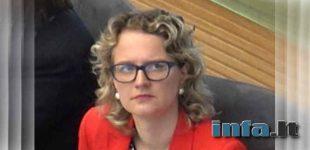 """Liberalė A.  Armonaitė kreipėsi į Baltarusijos ambasadą: """"baikite kankinti savo jaunimą"""""""