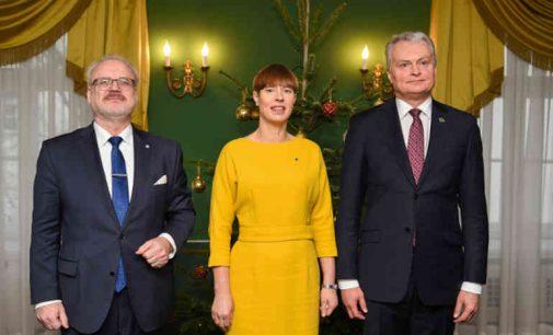 Prezidentas Gitanas Nausėda Rygoje susitiko su Latvijos Prezidentu Egilu Levitu ir Estijos Prezidente Kersti Kaljulaid