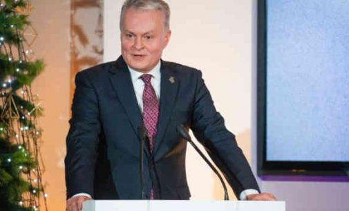 """Prezidento G. Nausėdos kalba """"Globalios Lietuvos"""" apdovanojimų renginyje"""