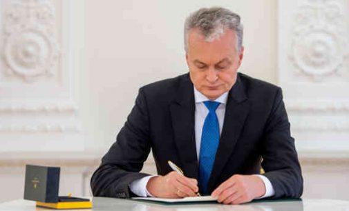 Prezidentas vetavo liberalų valdančiųjų siūlomą strateginių įmonių  pertvarkymo į akcines bendroves  įstatymą