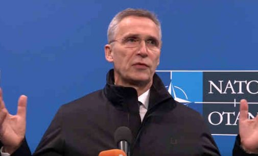"""NATO atsakys į kiekvieną išpuolį prieš Baltijos šalis ir Lenkiją"""", – pareiškė Stoltenbergas"""