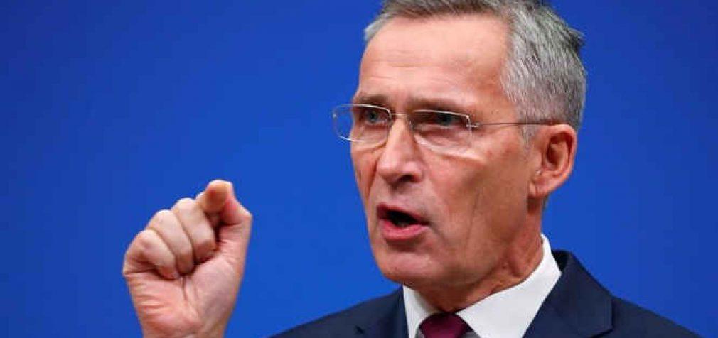 Stoltenbergas: NATO, o ne Rusija spręs, ar Ukraina prisijungs prie aljanso