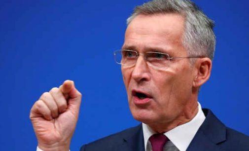 NATO sekretorius: Rusija ir Kinija naudojasi pandemija,  siekdamos destabilizuoti Vakarus