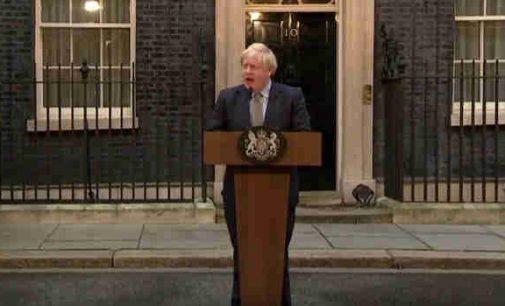 Borisas Džonsonas ėmėsi formuoti naują britų vyriausybę