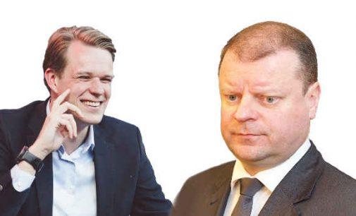 G. Landsbergis linki S. Skverneliui drąsos atsiprašyti už tai, kad pavadino TS-LKD antivalstybine partija