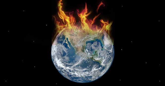 kaistanti Žemė - globalus atšilimas