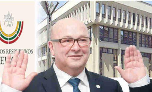 """Visvaldo Matijošaičio siekiams """"aneksuoti"""" dalį Kauno rajono Seimas """"uždėjo stogą"""""""