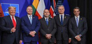 Prezidentas G. Nausėda susitiko su JAV Prezidentu Donaldu Trampu