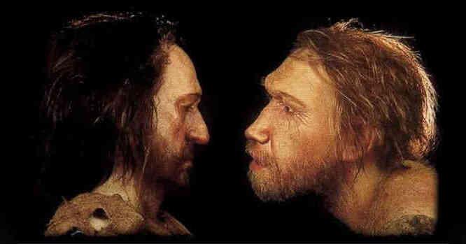 Lromanjonietis ir neandertalietis