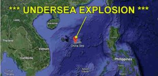 Pietų Kinijos jūroje įvyko branduolinis sprogimas