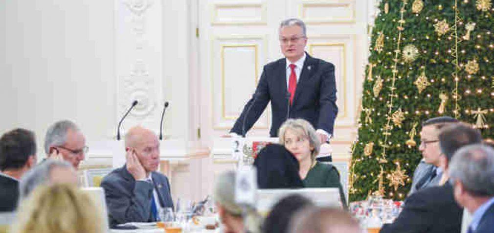 Prezidento Gitano Nausėdos kalba Nacionalinių maldos pusryčių metu