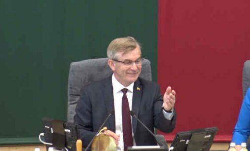 Teismas nepriėmė nagrinėti Seimo Pirmininko Viktoro Pranckiečio skundo