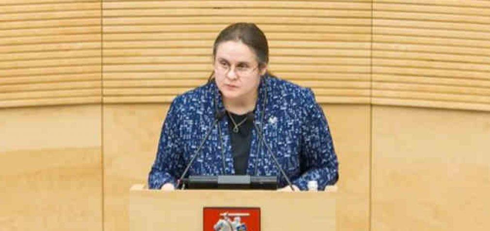 Agnė Širinskienė apie skaidrumą šios kadencijos Seime