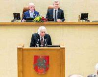 Laisvės premijos laureatas Albinas Kentra: Tautinė valstybė – didelė vertybė. Ją neigė okupantai ir įrodinėjo, kad Leninas į Lietuvą atėjo visiems laikams