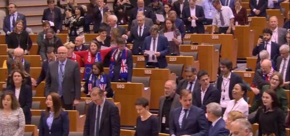 "Europarlamentas palaikė ""Brexit"""