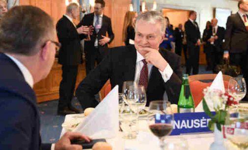 Prezidentas: Lietuva turi ambiciją tapti žaliosios ekonomikos ir skaitmenizacijos lydere