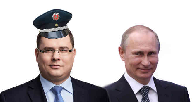 Laurynas Kasčiūnas ir V. Putinas