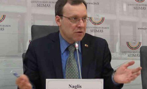 """Naglis Puteikis: """"Seimas nusprendė toliau nuodyti žmones"""""""