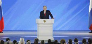 Putinas pasiūlė pakeisti konstituciją ir paskelbti šiais klausimais referendumą