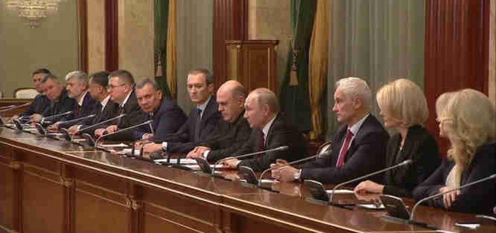 Paskelbta naujo Rusijos ministrų kabineto sudėtis