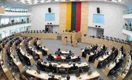 Nepaisant didelio opozicijos pasipriešinimo – Seimas įteisino neteisėtai įgyto turto civilinį konfiskavimą