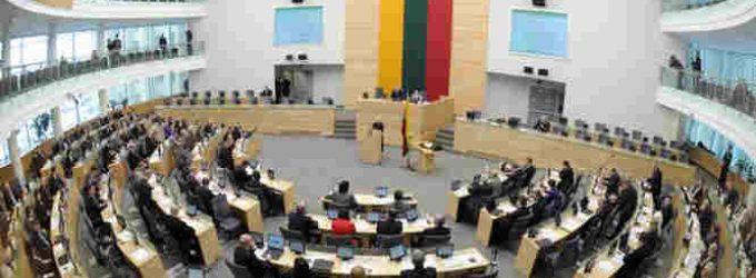 Seimas konstatavo būtinybę reikalauti okupacijos žalos atlyginimo iš Rusijos, kaip Lietuvą okupavusios SSRS teisių tęsėjos