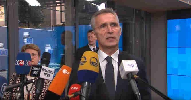 Jensas Stoltenbergas, generalinis NATO sekretorius