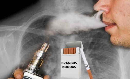 """PSO įspėja apie naują tabako pramonės vykdomą """"socialinę akciją"""""""