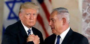 """Donaldas Trampas pristatė """"šimtmečio sandėrį"""" – Palestinos valstybę be terorizmo"""