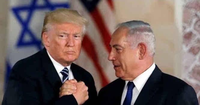Donaldas Trampas, Benjaminas Netanyahu