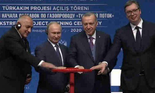 """Startavo dujotiekis """"Turkijos srautas"""""""
