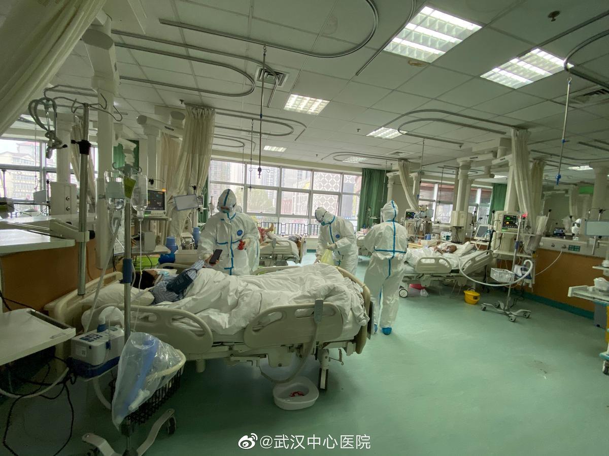 Uhano ligoninė - koronavirusas