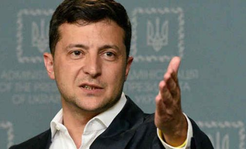 Volodymyras Zelenskis: Ukraina galėtų užimti Britanijos vietą ES