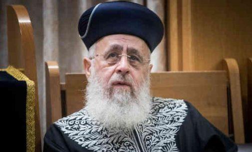 """Vyriausiasis Izraelio rabinas repatriantus iš buvusios SSSR  pavadino """"nekenčiančiais religijos gojais"""""""