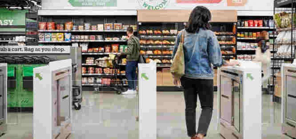 Amazon atidarė pilnavertę parduotuvę kurioje nėra kasų