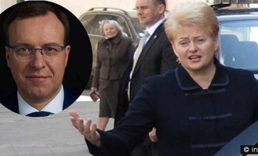 Virš Prezidentės D. Grybauskaitės telkiasi debesys – Naglis Puteikis kviečia į spaudos konferenciją