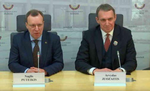 Arvydas Juozaitis ir Naglis Puteikis žada veikti drauge [video]