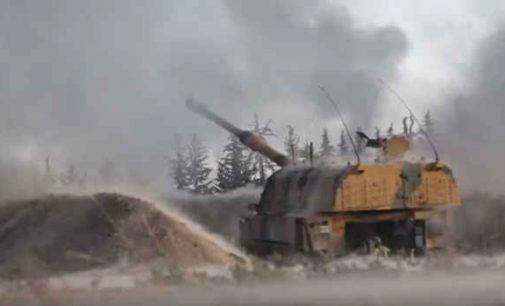 Turkija atsakė į aviacijos smūgius Sirijoje