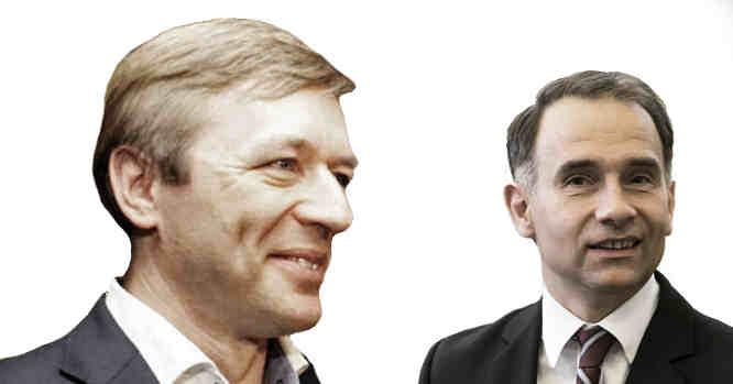 Ramūnas Karbauskis ir Rokas Masiulis