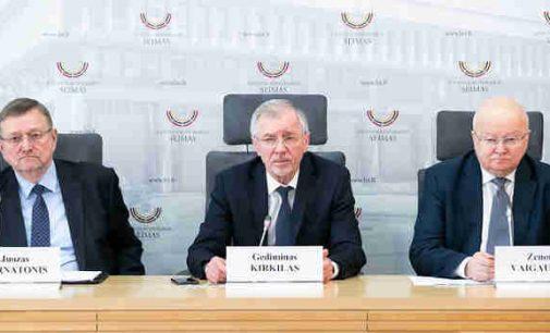 G. Kirkilui ir kitiems socialdarbiečiams nebepatinka rinkimų sistema, pagal kurią jie 30 metų buvo išrenkami į Seimą
