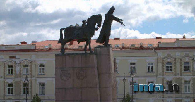 Paminklas Lietuvos valdovui Gediminui