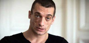 Rusas dailininkas Piotras Pavlenskis areštuotas Paryžiuje